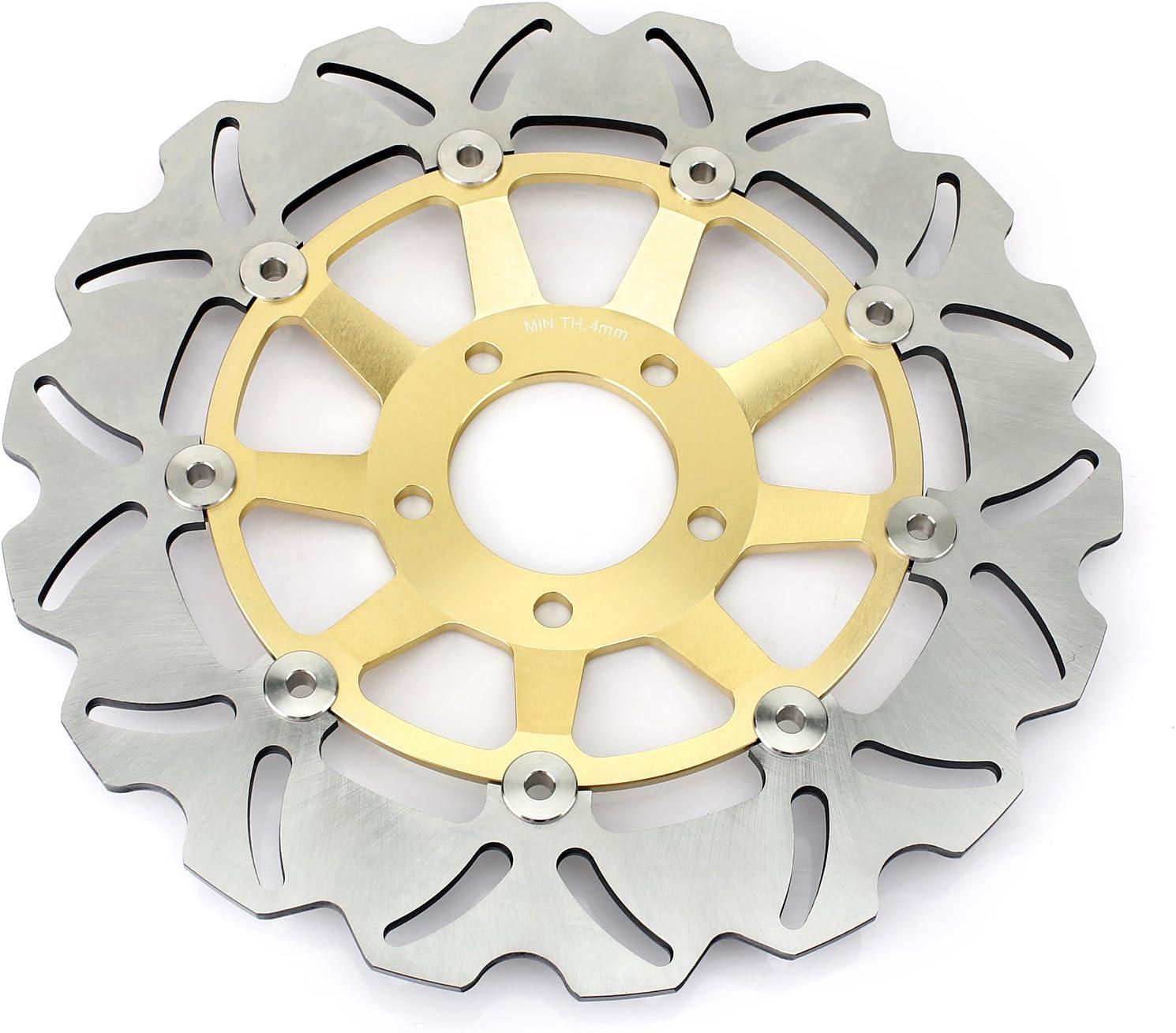 Tarazon 320mm Bremsscheiben Vorne Für Suzuki Rf900r 1994 1999 Gsf1200 Gsf1200s Bandit 1995 2005 Gsx 1200 Fs Inazuma 1998 2002 Gs 1200 Ss 2001 2002 Auto
