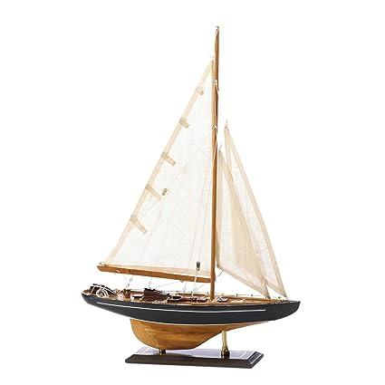 Accent Plus Wooden Ship Model Sailing Ship Models Vintage Bermuda Tall Ship Model