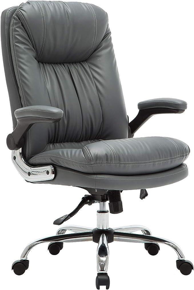 YAMASORO - Sedia da ufficio ergonomica, con braccioli ...