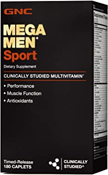 Amazon.com: GNC Mega Men Sport Daily Multivitamin for ...