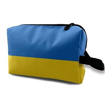 Amazon.com: Denim09 Bolsas de cosméticos bandera ucraniana ...