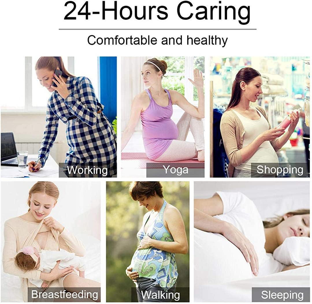 heekpek Mujer 3 Pack Sujetador de Lactancia Maternidad Sujetadores Sujetador de Lactancia en Algod/ón Premam/á y Maternidad Sost/én Lingerie sin Costuras Sujetadores Premam/á y de Lactancia