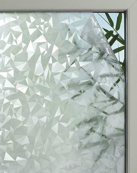 Glasfolie Statische Fensterfolie transparent Sonnenschutz 45x150cm Grace 3340010
