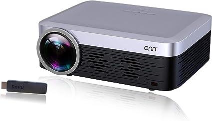 ONN ONA19AV901 Proyector portátil Full HD 1080p Native 920X1080 ...