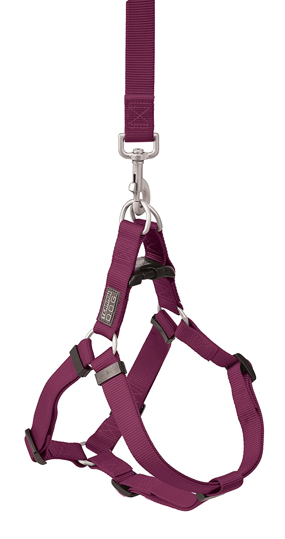 Purple Large, 20-33 inch Girth Size Purple Large, 20-33 inch Girth Size Terrain D.O.G. Nylon Dog Harness