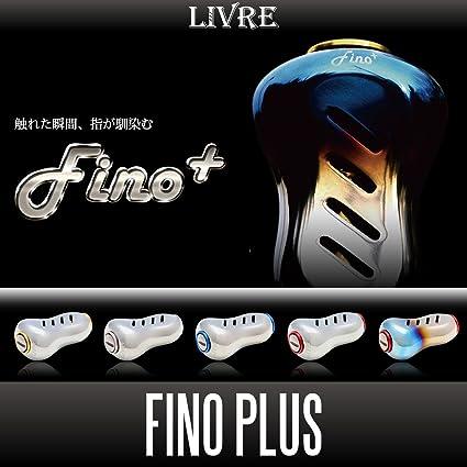 GOLD LIVRE Fino Titanium Handle Knob 1 piece SILVER