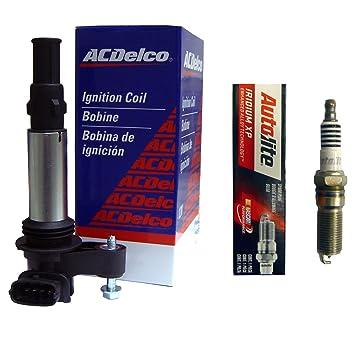 (1) ACDelco México bs-c1508 bobinas de encendido + (1) Autolite xp5263 Bujías: Amazon.es: Coche y moto