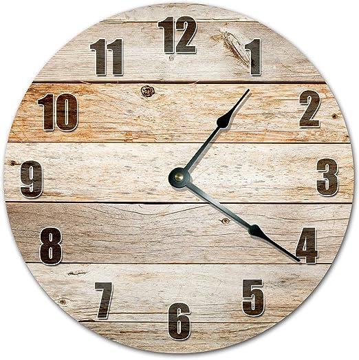 "10.5/"" Whimsical Spiral Wall Clock"