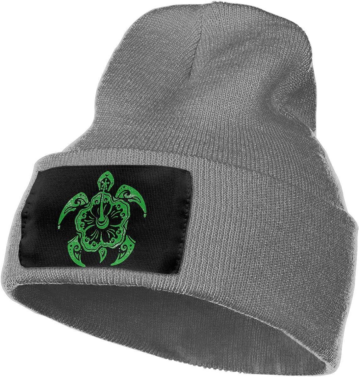 Mens and Womens 100/% Acrylic Knit Hat Cap Hawaiian Tribal Turtle Original Skull Beanie