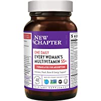 New Chapter Multivitamin for Women 50 Plus - Every Woman's One Daily 55+ with Fermented Probiotics + Whole Foods…