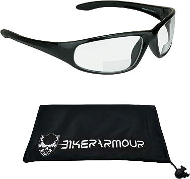 Bifocal Cycling Wrap Around Sunglasses 100/% UV Protection Integral Lens