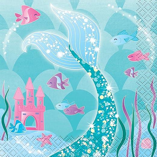 24ct Under the Sea Beverage Napkins
