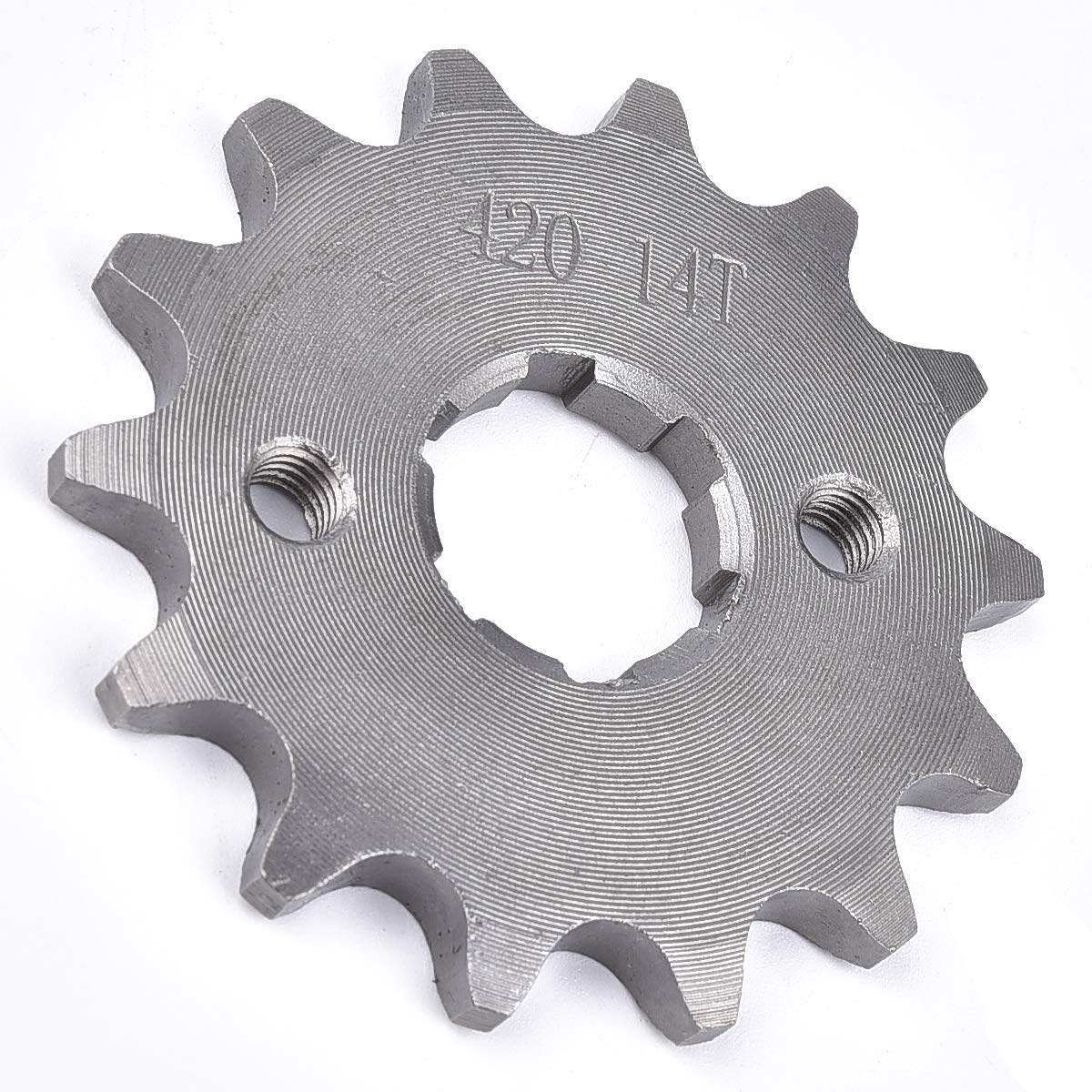 420 14 14T 20MM FRONT COUNTER SPROCKET LIFAN LONCIN ATV PIT BIKE 70 125 140 CC