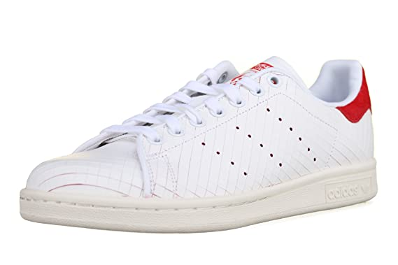 finest selection 7739b 3b07c adidas Shoes - Stan Smith W whitewhitered size 39 13 Amazon.co.uk  Clothing