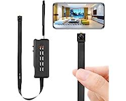 Spy Camera Module Wireless Hidden Camera WiFi Mini Cam HD 1080P DIY Tiny Cams Small Nanny Cameras Home Security Live Streamin