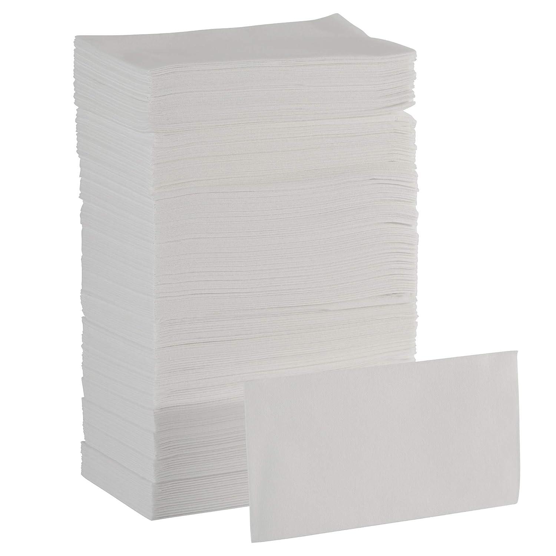 Dixie Ultra 1/6-Fold Linen Replacement Napkin by GP PRO GEORGIA-PACIFIC White, 92113, 200 Napkins Per Box, 4 Boxes Per Case (800 Total)