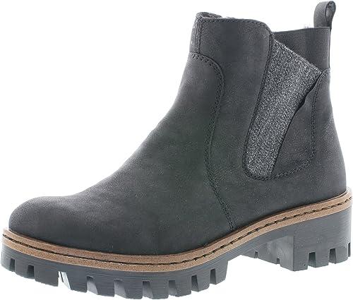 Rieker Damen Stiefeletten 75754, Frauen Chelsea Boots
