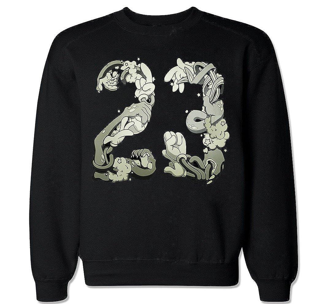 FTD Apparel Mens Space Jam 23 Crew Neck Sweater