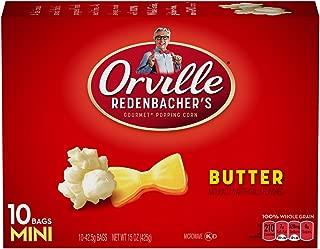 product image for Orville Redenbacher Gourmet Popping Corn 10 Mini Bags Butter Net Wt 15 Oz (Pack of 3)