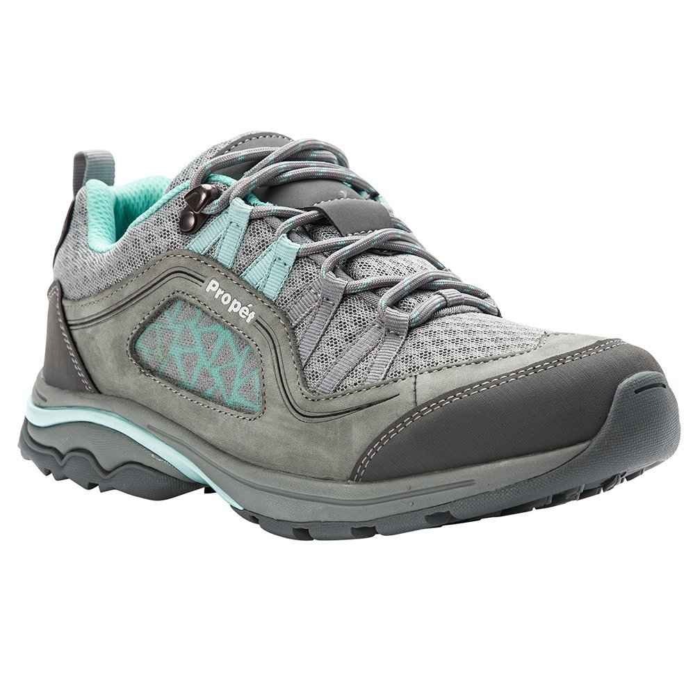 Propét Women's Propet Piccolo Hiking Boot B078YP79Y1 7H 2E 2E US|Grey/Mint