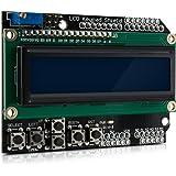 kwmobile LCD Shield Module Display - Display Module with Keys for Arduino UNO Mega1280 Mega2560 - Display with 16x2 Characters Keypad