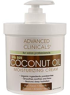 Crema De Coco Para El Cuerpo Organico Natural - Restaura La Hidratación Profunda De Tu Piel