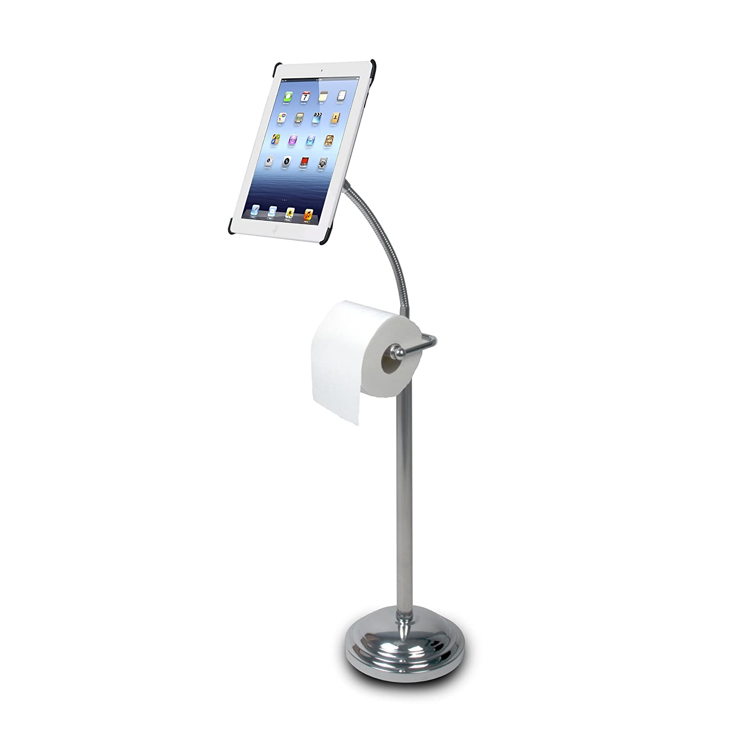 Modern toilet paper holders free standing - Unique Free Standing Toilet Paper Holder Stupefy For Modern Bathroom Remodel Appliance Interior Ideas Amazon Com Cta Digital Pedestal Stand For Ipad 2 3 4