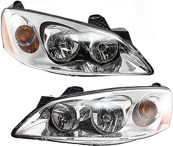 Amazon.com: Headlight Assembly Compatible with 2005-2010 Pontiac G6 Halogen  Passenger and Driver Side: AutomotiveAmazon.com