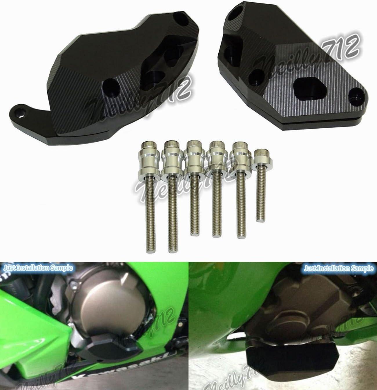 Engine Guard Slider Cover Protector for Kawasaki Ninja ZX10R 2011-2017 Green