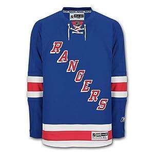 New York Rangers Reebok Premier Youth Replica Home NHL Hockey...