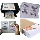 MFLABEL Half Sheet Laser/Ink Jet Labels for UPS, USPS FedEx, (8.5x5.5inches) - Pack of 1000