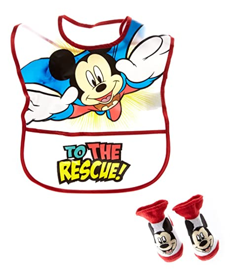 Image Unavailable. Image not available for. Color  Disney Mickey Mouse  Boy s Infant Bib ... b7fdeedfc878
