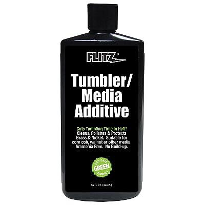 Flitz TA 04806-6A Tumbler Media Additive, 16 oz. Bottle, 6-Pack: Automotive