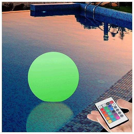 PK Green Outdoor Floating Light For Pool, Pond | 25cm LED Globe Garden Table  Lamp