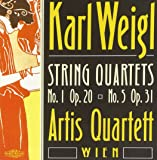 Karl Weigl: String Quartets 1 & 5 / Artis Quartett Wien
