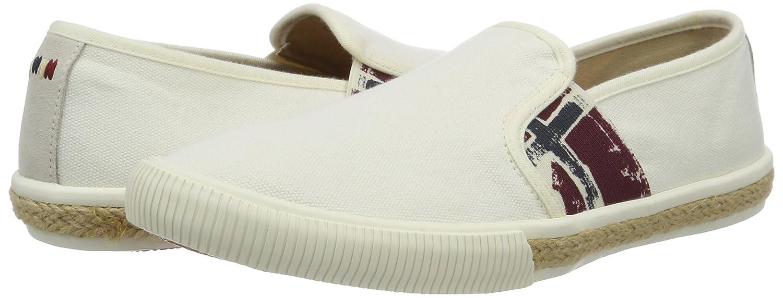 new arrival fab25 8e670 Napapijri Footwear Venice, Mocassins Homme, Blanc (Rice N28), 43 EU