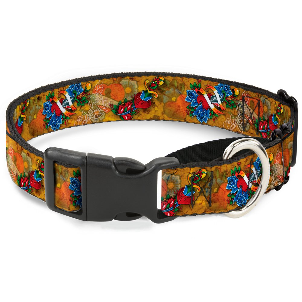 Buckle-Down MGC-W32023-S Martingale Dog Collar, 1  Wide-Fits 9-15  Neck-Small