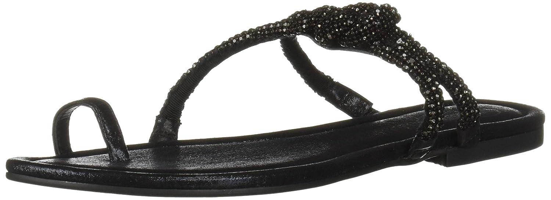 Black (Purple orange 001) Jessica Simpson Womens Klancy Flat Sandal