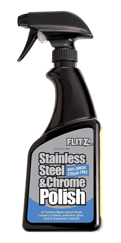 再再販! FLITZ:ステンレス&クローム専用ポリッシュ(473ml)   B0016SOF8S, 得トク堂 6ed15f3d