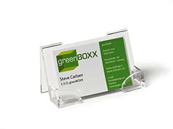 Durable business card dispenser amazon office products durable business card dispenser colourmoves