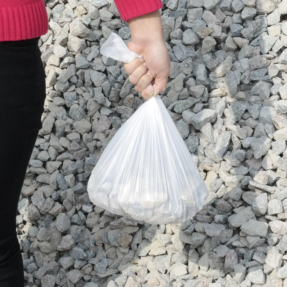 Sandmovie 10-15 litros Sacos de Basura Bolsa de Basura Bolsas de Basura para Cuarto de ba/ño Blanca 105 Bolsas