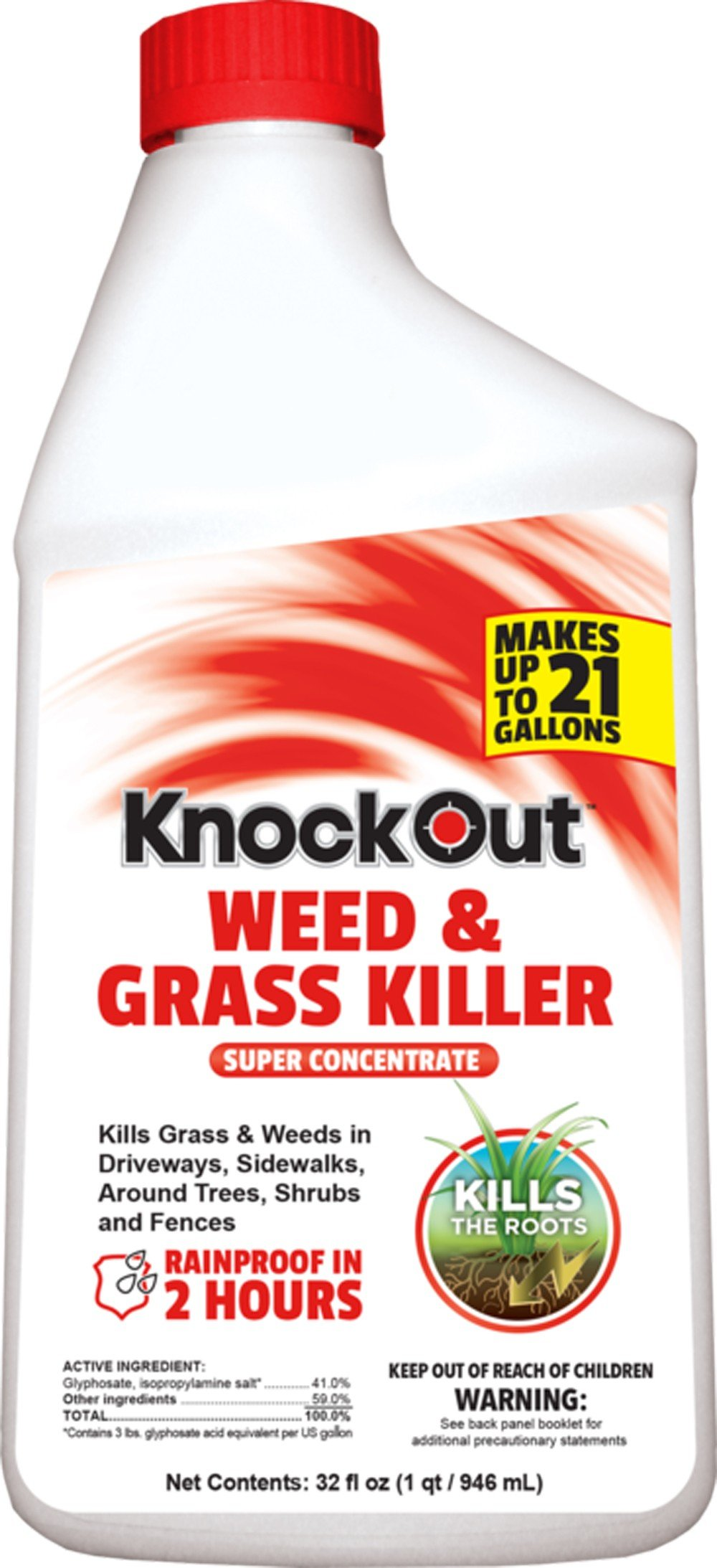 Knock Out 342054.0 Weed and Grass Killer, 32 oz by Knock Out