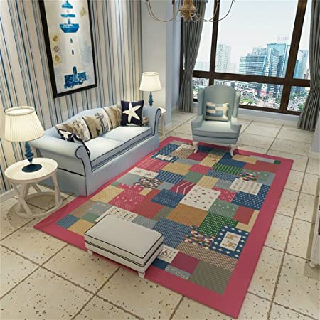 Nordic Style Sofa Carpets For Living Room Rectangle Rugs And Carpets For Bedroom Coffee Table Floor Mat Anti-slip Study Area Rug Carpets & Rugs