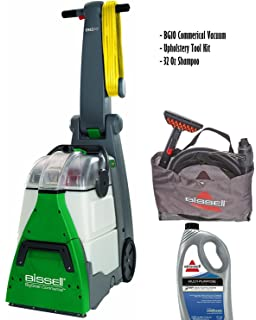 Bissell BigGreen Commercial BG10 Deep Cleaning 2 Motor Extracter Machine W/  Upholstery Tool, And