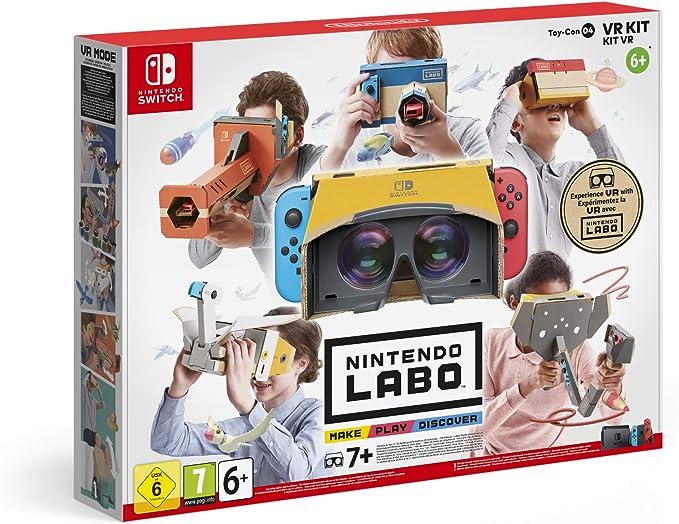 Nintendo Labo VR Kit Establecer - Accesorios y piezas de videoconsolas (Establecer, Nintendo Switch, Multicolor, Caja de cartón, Estampado de dibujos, Nintendo): Amazon.es: Videojuegos