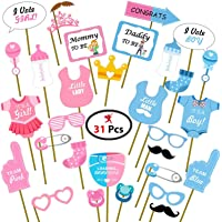 Party Propz Baby Shower Photo Booth Props 31Pcs