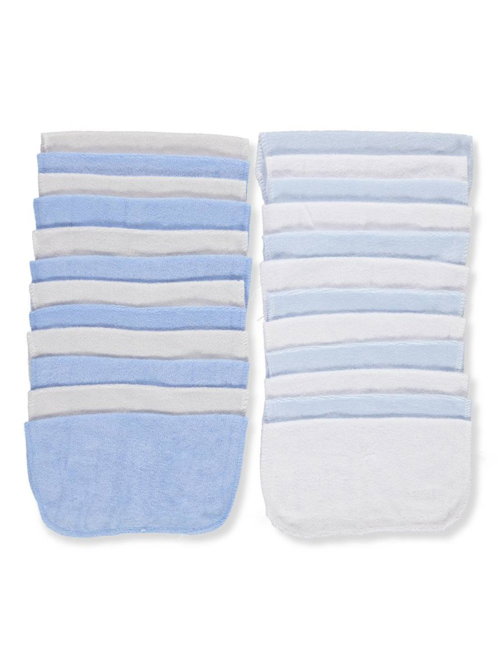 blue Mary Jane /& Buster 24-Pack Terry Washcloths one size
