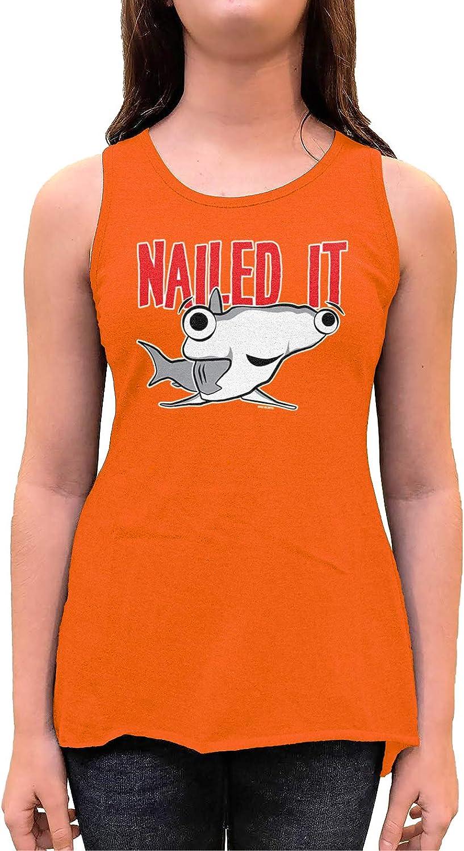 Nailed It - Hammerhead Shark Pun Toddler/Youth Sleeveless Backswing