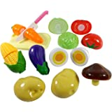Happy Cooking Kitchen Fun Cutting Vegetables Super Food Playset For Kids