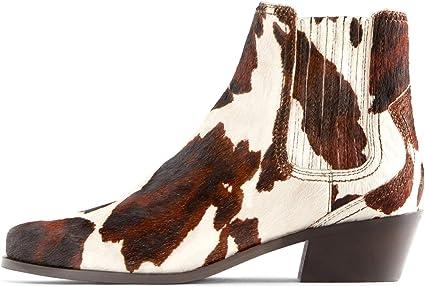 zara animal print ankle boots